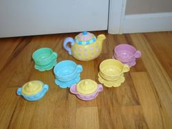 Fisher Price Laugh & Learn Say Please Tea Set - $20