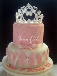 Princess Tiara Cake 1 (B002)