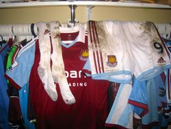 Andy Carroll full unwashed kit