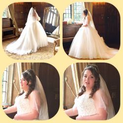 Our beautiful bride Sian was married at Hengrave Hall in Bury St Edmunds