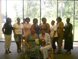 Author Kia Stokes & The Ladies of Savvy Book Club
