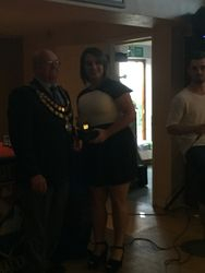 Caldicot Town Ladies Managers Player of the Year - Julia Nock