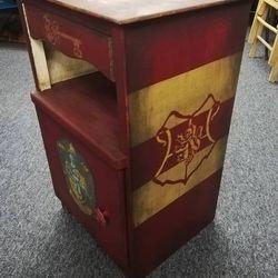 Harry Potter inspired bedside unit
