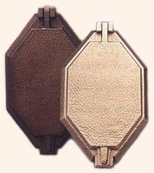 Bronze lift lid frame