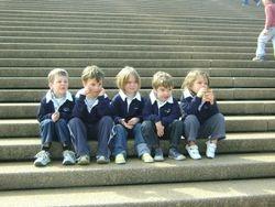 Thomas, Adrian, Emogen, Cameron & Bella