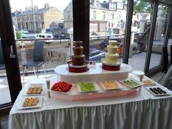 Chocolate Fountain Hire, Muntaz Restaurant Bradford