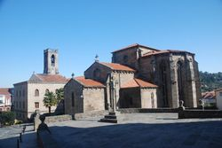 One of the ancient churches in Betanzos