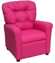 #400 Child Recliner  - Solid Pink cotton
