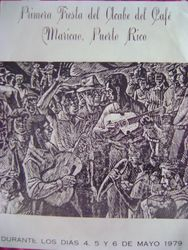 Afiche De La Primera Fiesta Del Acabe