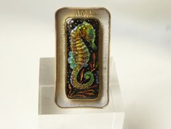 Seahorse Ring - SOLD