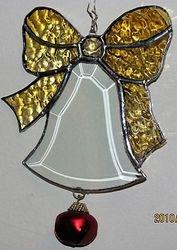 Beveled Christmas Bell