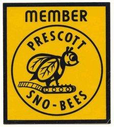 1971 Sno-Bees Logo