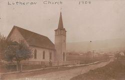 Lutheran Church in Marklesburg 1909