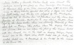 Description of Iron Ore Mining Crew on Tussey Mountain