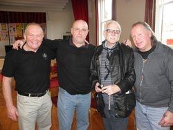 Les Prest, Keith Myatt,Al Marshall, Bob Barratt