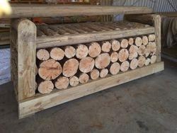 105 Cordwood Logpile