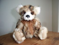 Charlie made from vintage ozelot fur