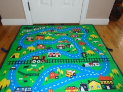 Take-Along Road Play Mat - $10