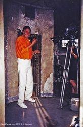 Filming in Oxford Prison