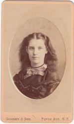 Rosalie Raymond of New York, New York