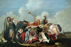 van de Venne, He Who Wears the Pants Has the Power, 1625-40, Vassar College