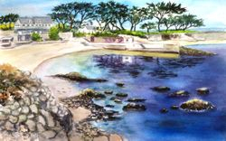 View of Lover's Point, Pacific Grove