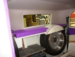 customised parcel shelf and wheel cover