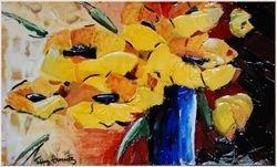 Yellow flowers in Vase