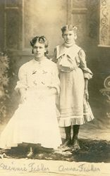 Minnie and Anna Fisher