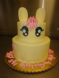 Fondant covered pony 25 servings $125