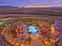 The Pool from Above: Casino Del Sol