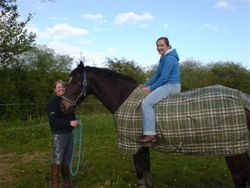 Sarah with Murphy