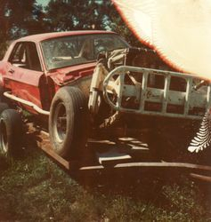 Dave White Sr  (ouch!)  1976