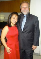 After the Rossini Mass with the inspiring maestro Gary Thor Wedow