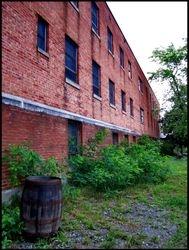 Exterior men's ward