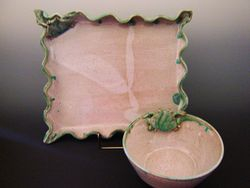 Tray and Dip Bowl