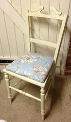 A dressing table chair