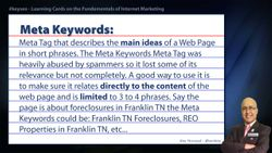 Meta Keywords - Real Estate SEO Short Definition