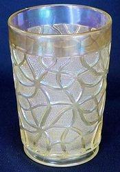 Soda Gold tumbler in clambroth