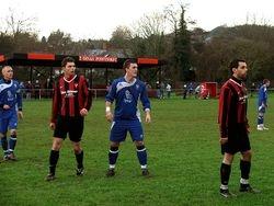 Caldicot Town v Dinas Powys 2009/10