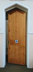 Door leading to rear hall