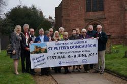 Festival Banner launch April 2014