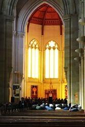 Sacre Coeur Cathedral Bendigo where we sang