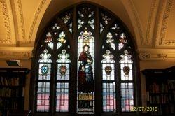 Thomas Wolsey window, Ipswich Library
