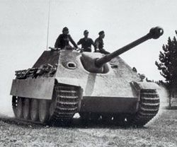 The Jagdpanther :
