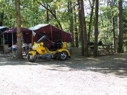 Motorcyle Tent Trailer