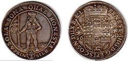 1690 Brunswick-Wolfenbuttel, 2/3 Thaler