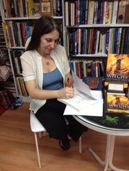 First Book Signing