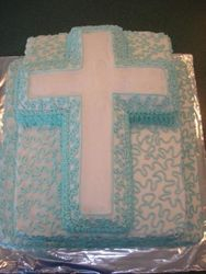 blue christening 45 servings $270