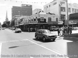 EMI Shop Christchurch 1981